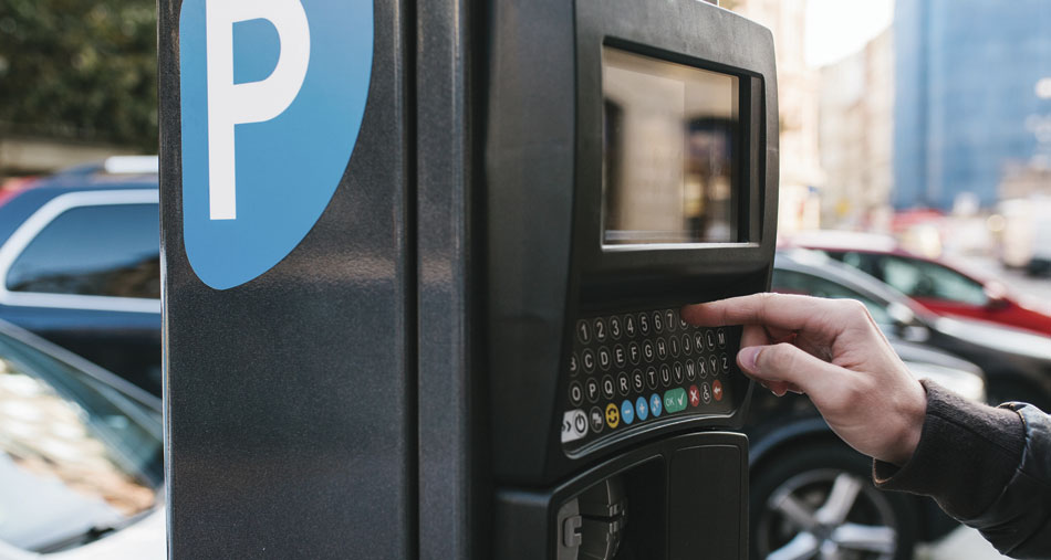 Parking meters and ticket machines